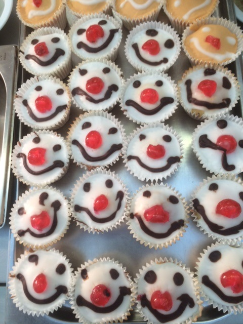 Red Nose Day 2017 cakes