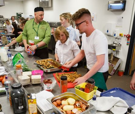 Behind the scenes at Ready Steady Cook event