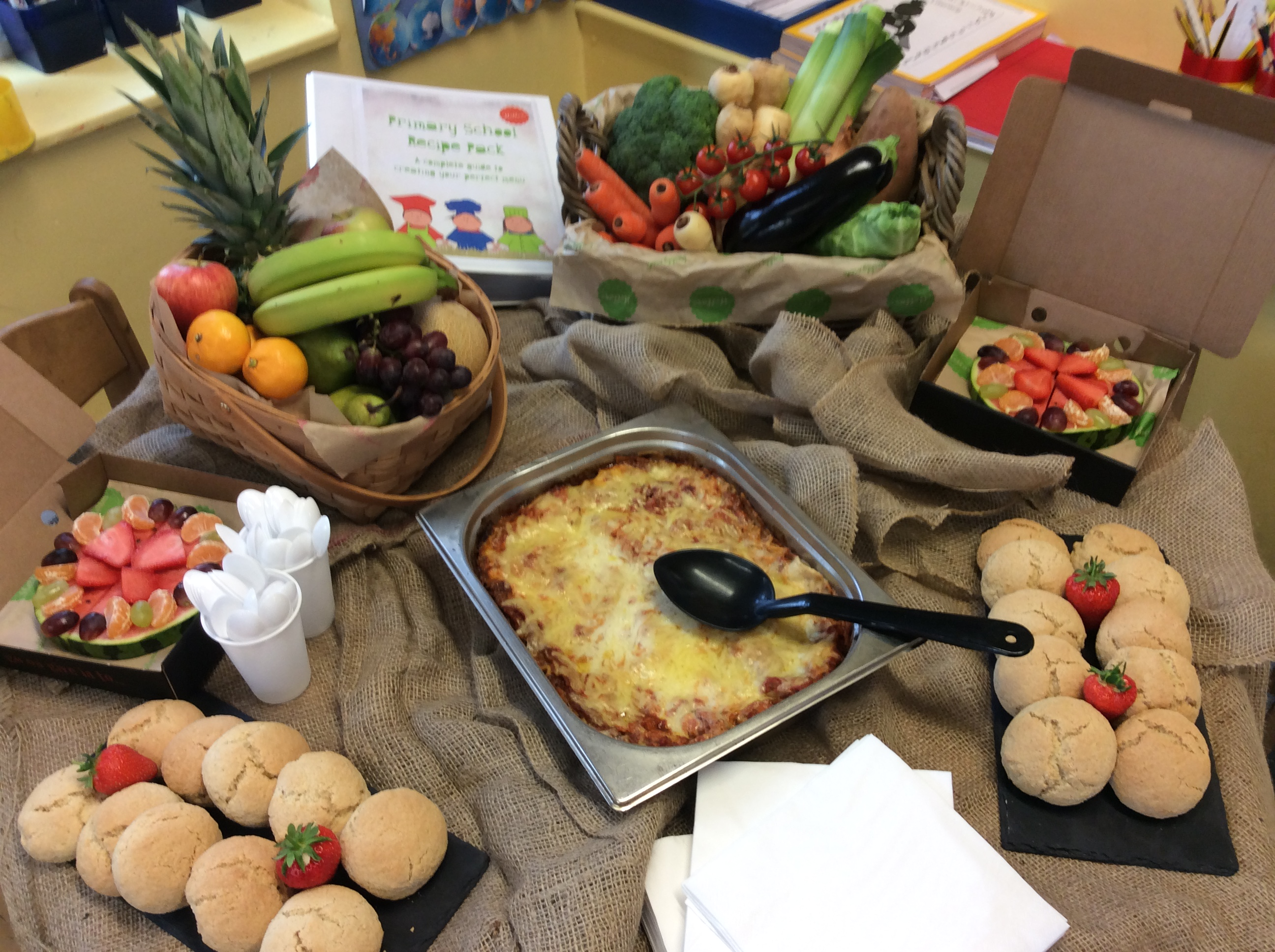 A taste of our primary school recipes