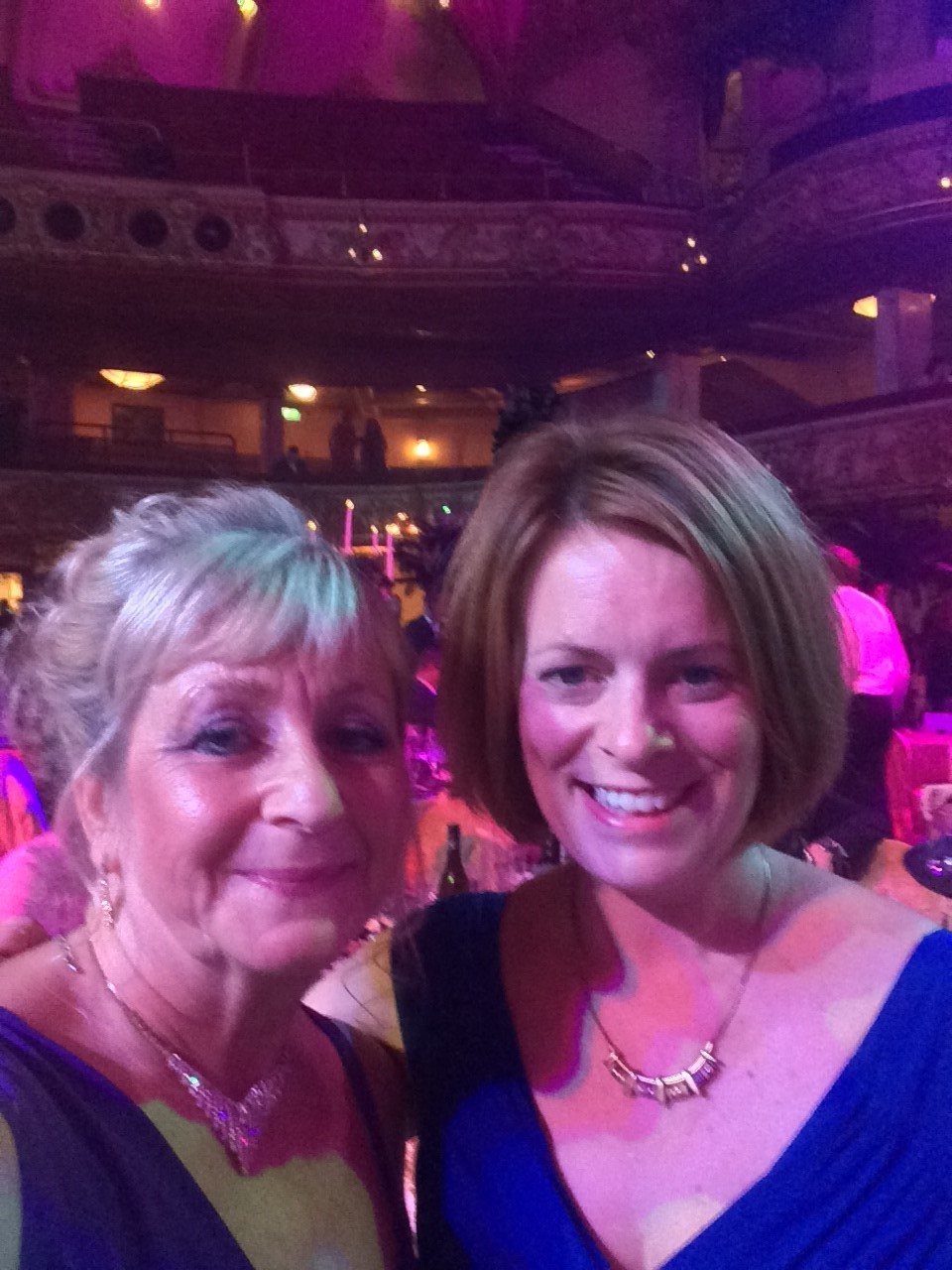 Janet and Jenny at the BIBA's finals