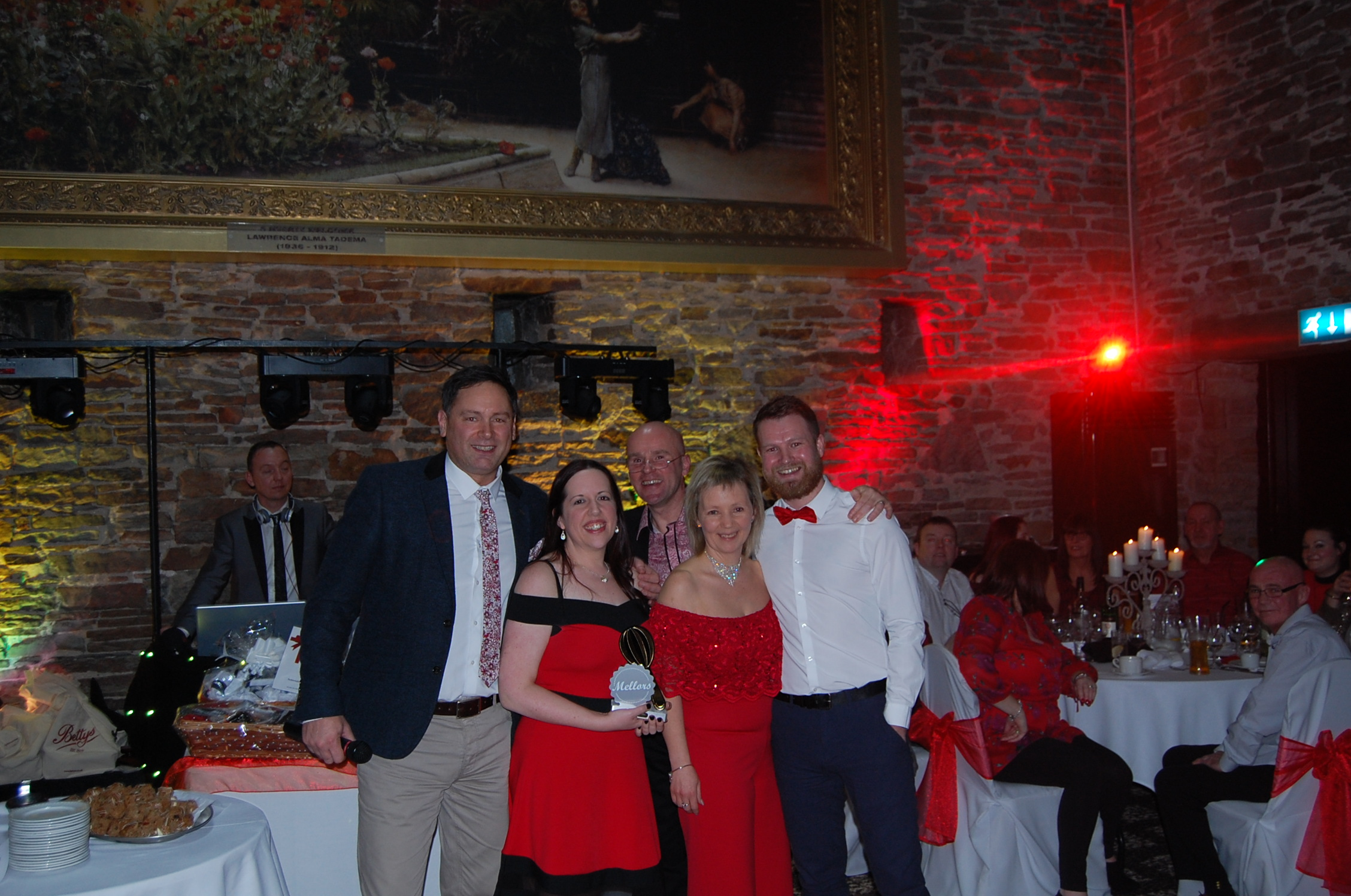 The Golden Whisk Winners 2017 receiving their awards